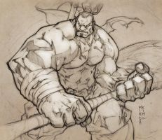 AXE sketch by MinohKim