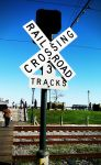 Railroad Crossing by mhalpert