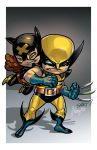 Kitty and Wolvie by JJKirby