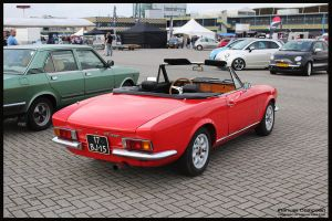 1974 Fiat 124 Sport Spider by compaan-art