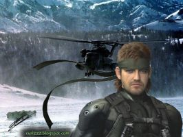 Papiel Solid Snake by Curi 2 by curi222