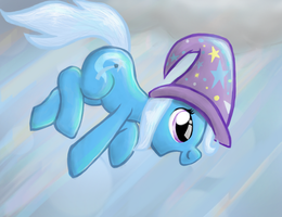 Trixie Falling... or Something Like That by manfartwish