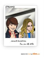 james and me by SkyandBigTimeRush