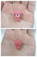 Beaded Bear Charm by vivee