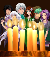 Candles by happyare