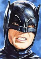 Batman - Adam West by veripwolf