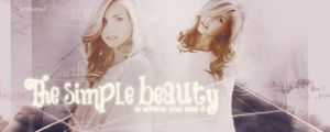 The simple beauty by Smilened