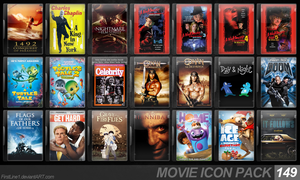 Movie Icon Pack 149 by FirstLine1