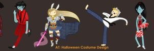 AT: Halloween costume design by rawr-smile13