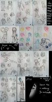 Sketchdump 2011 notebook by AFrozenHeart
