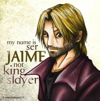 Jaime Lannister: a wounded lion by SleepingAnto