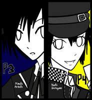 REQUEST: Minato and Naoto by se-rah