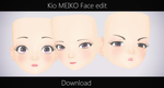 Kio MEIKO Face edit by MichiKairin