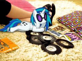 Real Life Vinyl Scratch by CWArtist