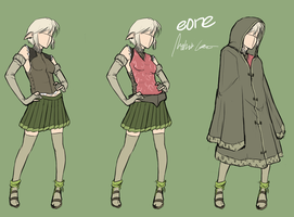 Eone Outfit Sheet by MLeth