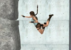 Jumping Lara by CindyBella