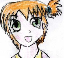 Misty as a child in my style by Fran48