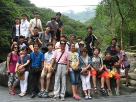 Group Picture at the Rock by pallaza