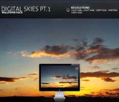 Digital Skies pt.I - Wallpaper by PatrickRuegheimer