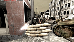 WW2. Battle of Caen by Samuraiknight-1600