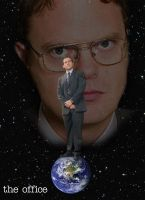 Dwight Over Michael by kevinrosborn