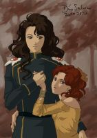 Nephrite and Naru by Seeraholic