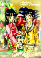 Gohan's First Christmas by YamchaFan91