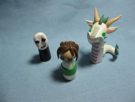 Wobbles: Spirited Away by okapirose