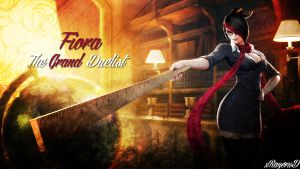 LoL - Headmistress Fiora Wallpaper ~xRazerxD by xRazerxD