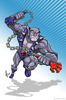 Thundercats Panthro by joe-twoanimators