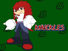 Knuckles Uchiha the Echidna by Tails19950