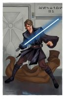 Anakin Skywalker by DennisBudd