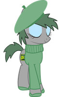 French DeviantART Pony by cool77778