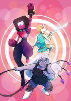 WE ARE THE CRYSTAL GEMS by reckingstacks