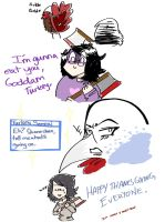 HAPPY THANKSGIVING, I guess by 9LittleDemon6