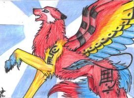 ACEO Trade Lucky978 by Eclipsedwolf