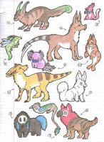 Traditional Adopts 5 OPEN by AbwettarAdopt
