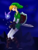 Token cosplaying as Link by VesteNotus