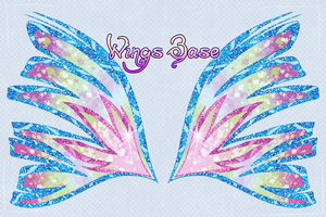 Sirenix Wings Base (Updated) by PrettieAngel