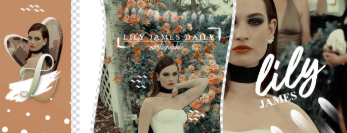 Timeline Lily James by MartuGraphic