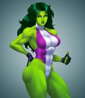 She Hulk by Jiggeh