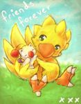 Chocobo n Moogle by DestinyBlue
