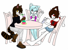 Collab:just hanging out by ShadowsOfTheStars