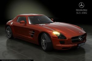 MB 300SL AMG 2010 r.5 red by edfeg71