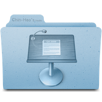 Keynote Folder Icon by chinhaochou0212