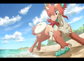 Dance Along the Shore by Nightrizer