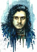Jon Snow by anrasmus