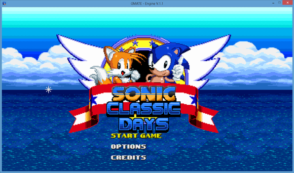 Classic Days: Title Screen...again by supertailss