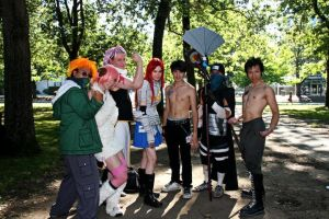 Cosplay - Fairy Tail Guild by Chick-with-a-pencil