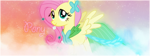 MLP - Fluttershy forum signature for Pony by ossie7